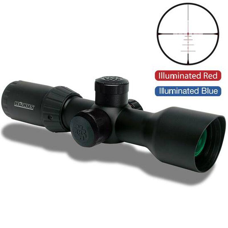 Konus KonusPro T30 3-12x44 Riflescope Dual Illuminated 550 BDC 30mm Matte Black 7291