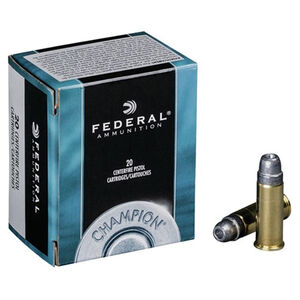 Federal Champion .44 Special Ammunition 20 Rounds Lead SWC HP 200 Grains C44SA