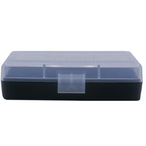 Berry's Ammo Box 380/9mm 50 Round Polymer Clear/Black