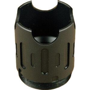 SilencerCo AR-15 ASR Blast Shield Steel Matte Black