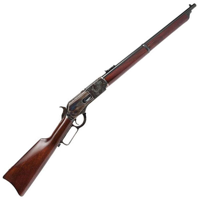 "Cimarron Firearms 1876 Crossfire Carbine .45-60 Win Lever Action Rifle  22"" Barrel 8 Rounds Full Walnut Stock Color Case Hardened Finish"