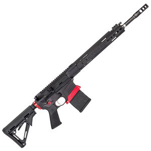 "Savage Arms MSR 10 Competition Semi Auto Rifle .308 Winchester 20 Rounds 18"" Barrel Side Charger Free Float M-LOK Hand Guard Magpul CTR Stock Black"