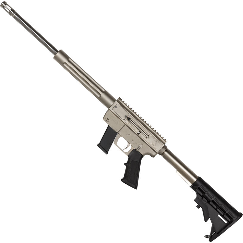 """Just Right Carbine Marine Takedown Semi Auto Rifle 9mm Luger 17"""" Barrel 17 Rounds Tube Style Forend Nickel Finish"""