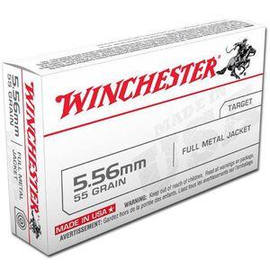 Winchester USA 5.56 NATO 55 Grain FMJ 20 Round Box