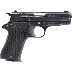 "Century Arms STAR Model BM 9mm Luger Semi Auto Pistol 8 Rounds 3.77"" Barrel Fixed Sights Used/Surplus Black"