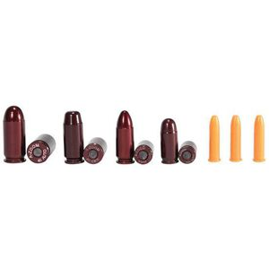 A-Zoom NRA Instructor Snap Caps Variety Pack Aluminum/Plastic Red 11 Piece