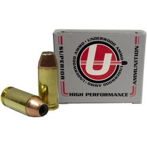 Underwood Ammo .460 Rowland Ammunition 20 Rounds 185 Grain Nosler JHP 1575fps
