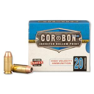 Cor-Bon .40 S&W Ammunition 20 Rounds, JHP, 135 Grains