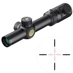 Athlon Talos BTR 1-4x24 Riflescope Illuminated Etched Glass AHSR 14 SFP IR MIL Reticle 30mm Tube 0.2 MIL Adjustment Fixed Parallax Second Focal Plane Matte Black