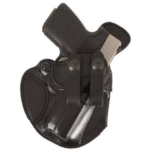"DeSantis Cozy Partner #028 Inside the Pant Holster for Kahr, 1911 3"", LC9, Kel-Tec Right Hand Black Leather"