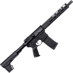 "SIG Sauer M400 Tread 5.56 NATO AR-15 Semi Auto Pistol 11.5"" Barrel 30 Rounds M-LOK Free-Float Handguard Adjustable Blade 2.0 Pistol Brace Black"
