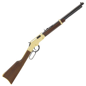"Henry Repeating Arms Golden Boy Youth Model H004Y Lever Action Rimfire Rifle .22 Long Rifle 16.25"" Barrel 16 Rounds American Walnut Stock Golden Finish"