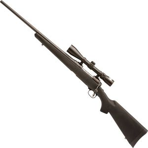 "Savage 111 Trophy Hunter XP Left Hand Bolt Action Rifle .270 Win 22"" Barrel 4 Rounds Synthetic Stock Nikon 3-9x40 Scope Matte Black Finish 19704"