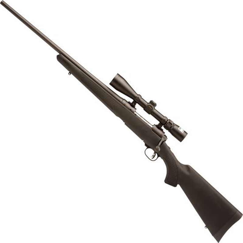"""Savage 111 Trophy Hunter XP Left Hand Bolt Action Rifle .270 Win 22"""" Barrel 4 Rounds Synthetic Stock Nikon 3-9x40 Scope Matte Black Finish 19704"""