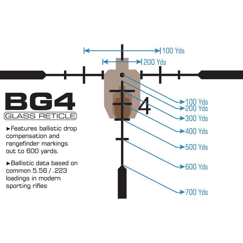 UTG 1-8X28 30mm MRC Scope, IE, BG4 Reticle, with ACCU-SYNC