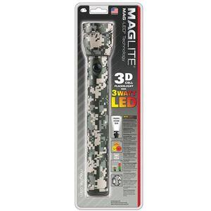 Maglite Mag-LED Blister Pack 3 D Cell LED Digital Camo ST3DMR6