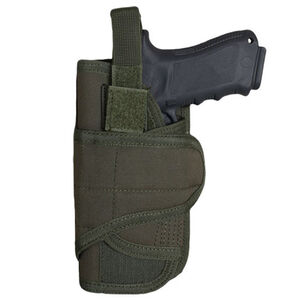 Fox Outdoor Cyclone Vertical Mount Modular Holster Large Autos Left Hand Nylon Olive Drab Green 58-7805