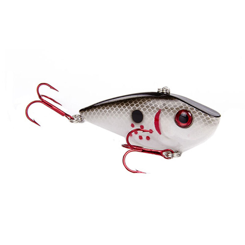 Strike King Red Eyed Shad Lipless Crankbait Hard Lure 1/2oz Bleeding Gizzard Shad Per 1