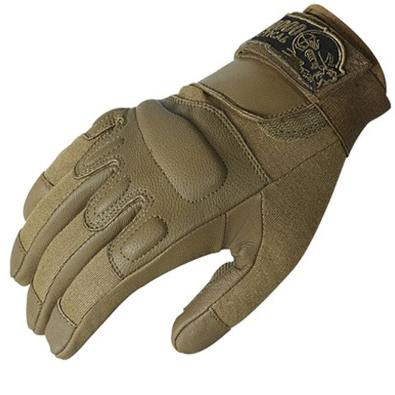 Voodoo Tactical Intruder Gloves Leather Medium Coyote 20-907907093