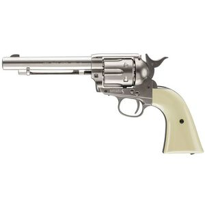 Umarex Colt Peace Maker Nickel .177 Caliber Co2 Air Pistol 410 fps Single Action Only