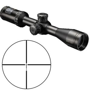 "Bushnell AR Optics 2-7x36mm Riflescope DZ 22LR Non-Illuminated Reticle 1"" Tube 0.1 Mil Adjustments Throw Down PCL Lever Fixed Parallax Second Focal Plane Matte Black"