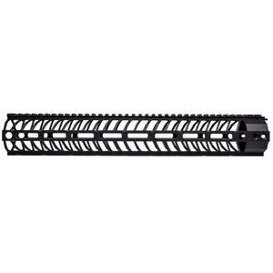 "Spike's Tactical LR-308 High Profile Free Float Handguard 15"" M-LOK Aluminum Black SMRX015"