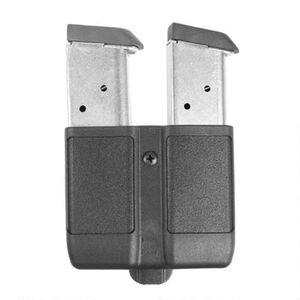 BLACKHAWK! Double Mag Case Single Stack Magazines Polymer Black 410510PBK