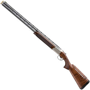 """Browning Citori 725 Sporting Left Handed 12 Gauge O/U Break Action Shotgun 32"""" Ported Barrels 3"""" Chambers 2 Rounds Gloss Walnut Stock Adjustable Comb Engraved Receiver Silver/Blued Finish"""