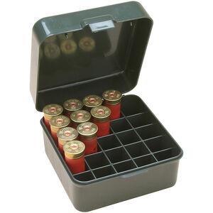 "MTM Case-Guard Dual Gauge Shotshell Case 12/16/20 Gauge 3"" Shot Shells Holds 25 Rounds Green"