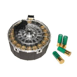 "ProMag SAIGA Semi Auto Shotgun Drum Magazine 12 Gauge 2-3/4"" Shells Only 20 Rounds Polymer Black SAI-A6"