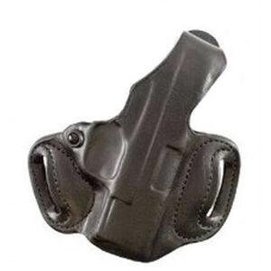 DeSantis Thumb Break Mini Slide Glock 17 Belt Holster Left Hand Leather Black 085BBE1Z0