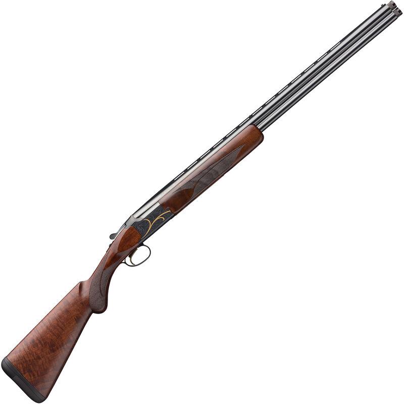 "Browning Citori Gran Lightning .410 Bore O/U Break Action Shotgun 28"" Barrels 3"" Chamber 2 Rounds Walnut Stock Blued Finish with Gold Engravings"