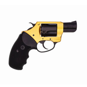 Charter Arms Undercover Lite Goldfinger Double Action Revolver 38 Special 5 Round Capacity 2 Gold Finish