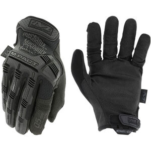 Mechanix Wear M-Pact 0.5mm Covert Gloves Size Large Synthetic Black