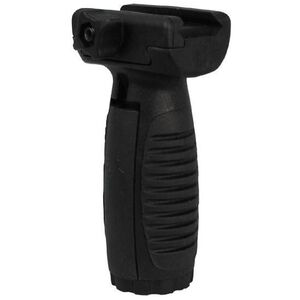 Command Arms Accessories AR-15 Short Vertical Grip Picatinny Mount with Pressure Switch Mounts Polymer Black MVG