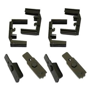 Hexmag AR-15 HexID Color Identification System Four Pack Polymer Black HXID4-AR15-BLK