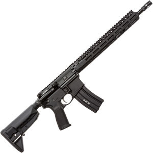 "Bravo Company USA RECCE-14 MCMR AR-15 Semi Auto Rifle 5.56 NATO 16.1"" Barrel 30 Rounds M-LOK Handguard BCM Collapsible Stock Black"