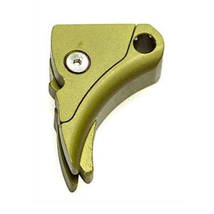 Lone Wolf Ultimate Adjustable Trigger For GLOCK With 9/40 Trigger Bar Aluminum Green LWD-UAT-A-940-MSODG