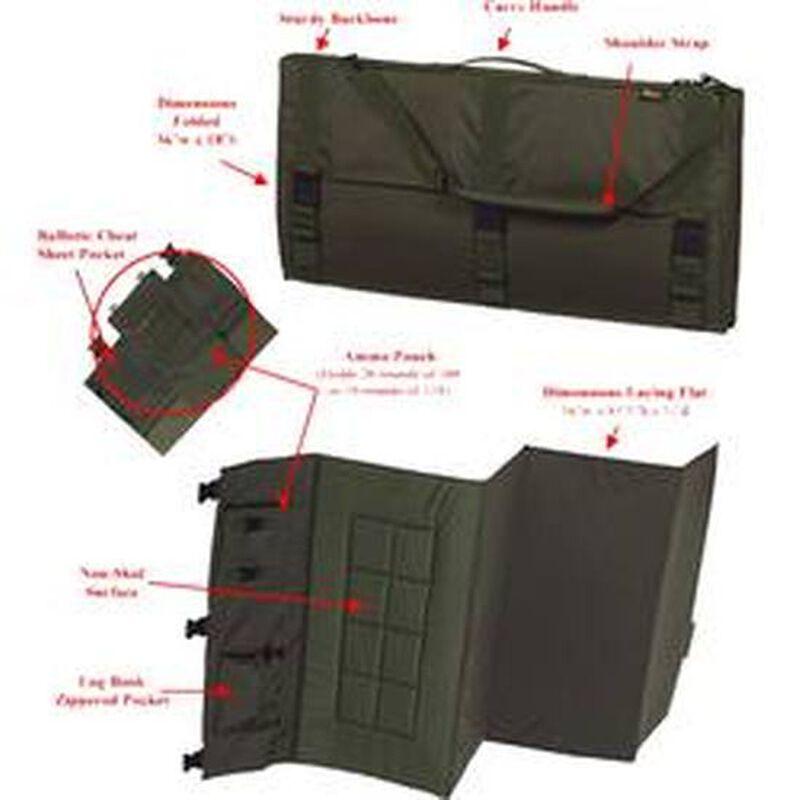 "US PeaceKeeper Tactical Shooting Mat 36""x81.5""x.75"" 1000 Denier Nylon OD Green P20300"