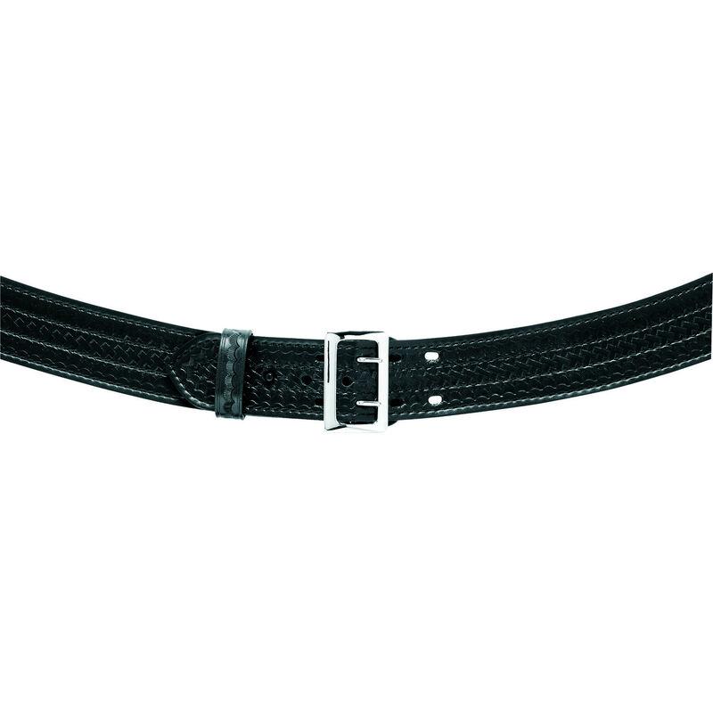 "Safariland Model 872 Contoured 2.25"" Duty Belt Suede Lined 44"" Waist Plain Black 20-872-44-6"