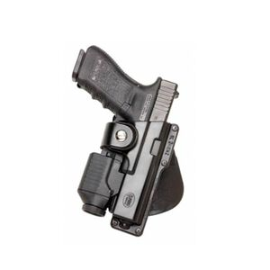 Fobus Paddle Tactical Speed Belt Holster Left Hand Black Fits Glock 19, 23, 32, 36 and S&W M/P with light or laser GLT19LH