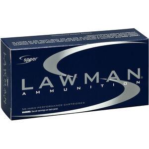 Speer Lawman Clean Fire .38 Special +P Ammunition 50 Rounds 158 Grain TMJ RN Bullet 900 fps