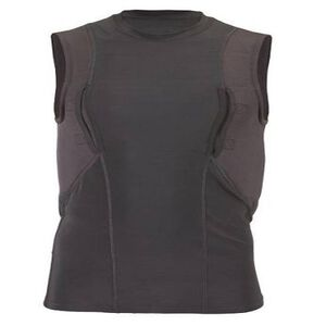 5.11 Tactical Sleeveless Holster Shirt Poly/Spandex Medium Black 40107