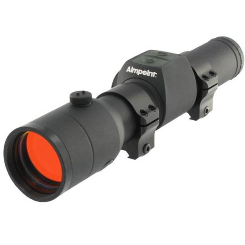 Aimpoint Hunter H30L Red Dot Sight 30mm Long Action With Rings Black 12691
