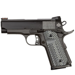 "Rock Island Armory ROCK Ultra CS 1911 Semi Auto Pistol .45 ACP 3.5"" Barrel 7 Rounds Synthetic G10 Grip Parkerized Matte Black Finish"