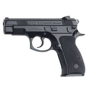 "CZ 75D PCR Compact Semi Auto Handgun 9mm Luger 3.9"" Barrel 14 Rounds Fixed Sights Alloy Frame Black Finish 91194"