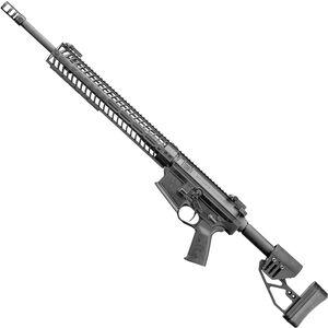 "Spikes Roadhouse Precision Rifle 6.5 Creedmoor AR Style Semi Auto Rifle 20"" Krieger Barrel 15"" M-LOK Handguard Adjustable XLR Stock Matte Black Finish"
