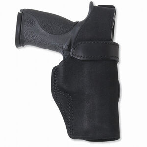 Galco Wraith Belt Holster For GLOCK 17/22/31 Thumb Break Right Hand Leather Black WTH224B