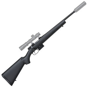 "CZ USA CZ 527 American Suppressor Ready .223 Remington Bolt Action Rifle 16.5"" Threaded Barrel 5 Rounds Synthetic Stock Blued"