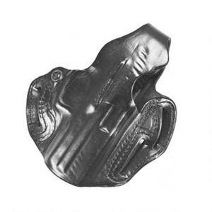 "DeSantis Thumb Break Scabbard S&W M&P 45 OWB 1.75"" Belt Right Hand Leather Black"